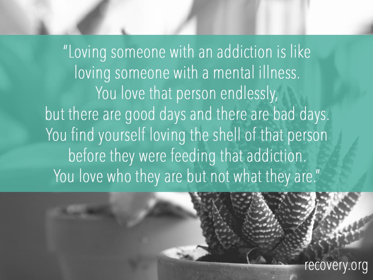 Loving a recovering addict