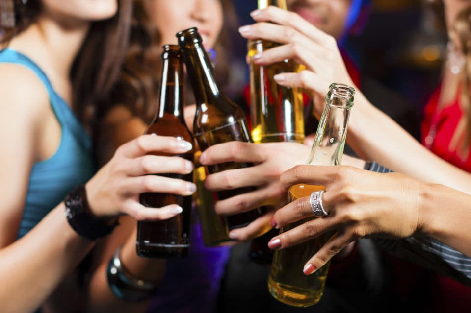 New Study Shows Young Women Are Drinking Just as Much as Men. Yikes!