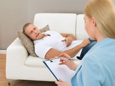 Man in therapy for gabapentin withdrawal
