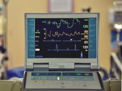 Monitoring vital signs after painkiller overdose